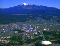 Aerial view of NAU Campus